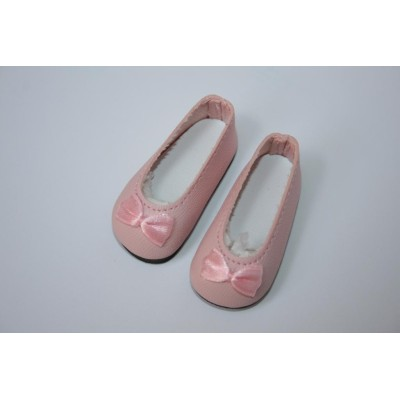 Chaussures ballerines roses pour Little Darling
