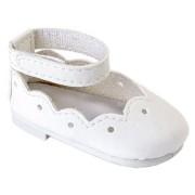 Ballerines blanches Minouche