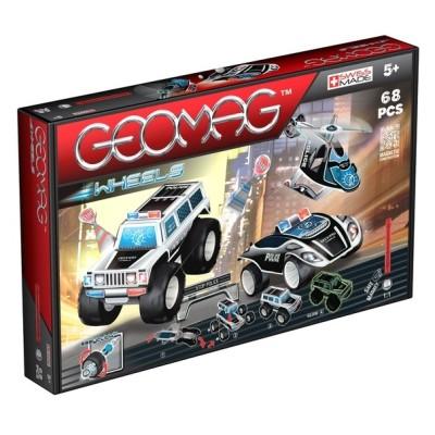 Wheels Police - 68 Pièces Geomag