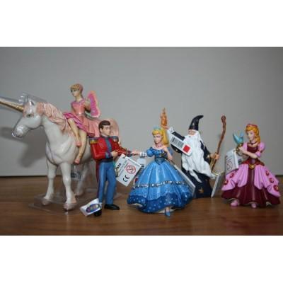Set de Princesses et Merlin