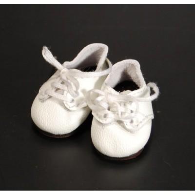 Chaussures blanches à lacets pour Boneka