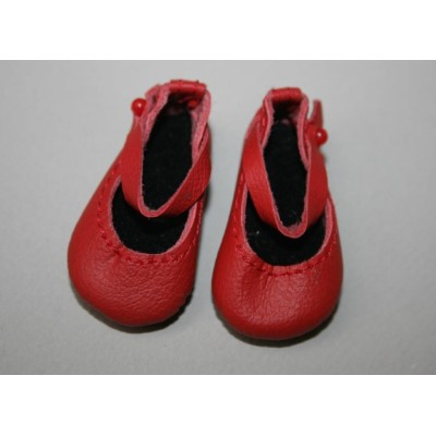 Chaussures Rouges Mary Jane pour Boneka
