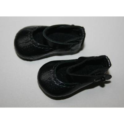 Chaussures Noires Mary Jane pour Boneka