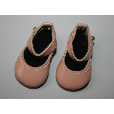 Chaussures Pêches Mary Jane pour Boneka