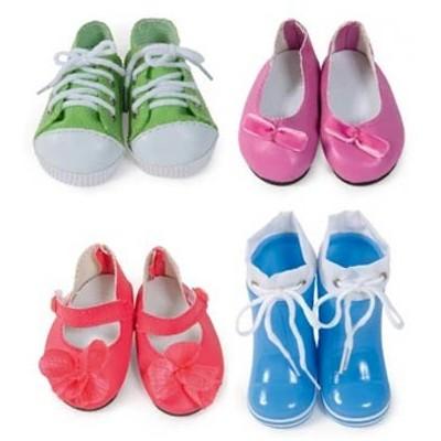 Set de 4 paires de chaussures pour Poupée Kidz'n'Cats