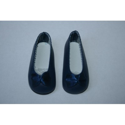 Chaussures ballerines Navy pour Little Darling