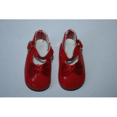 Chaussures Mary Jane rouges pour Little Darling