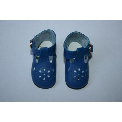Chaussures bleu vif pour Little Darling