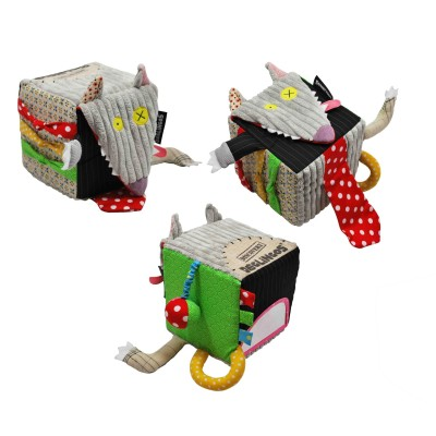 Cube d'activités Loup Deglingos