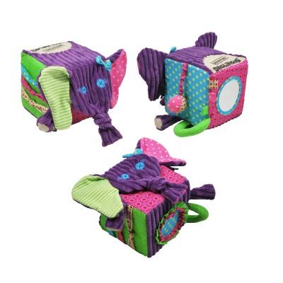 Cube d'activités Eléphant Sandykilos Deglingos