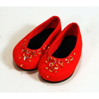 Ballerines rouges pour Little Darling