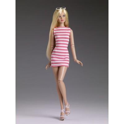 Poupée Resort Stripe Basic Cami-Blonde