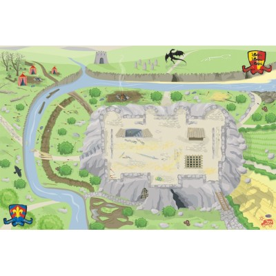Grand Tapis de jeu Chevaliers