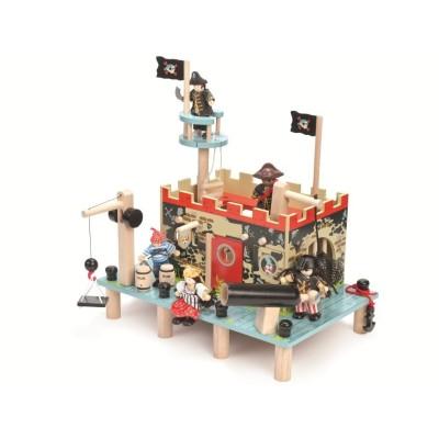 Le Fortin des Pirates en bois