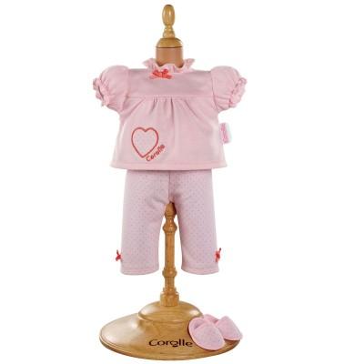 Pyjama et Chaussons Poupée 36 Cm