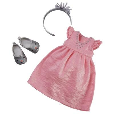 Robe de fête et accessoires Poupée Les Chéries 33 Cm