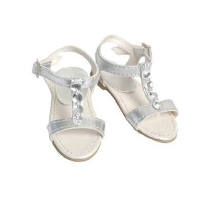 Sandalettes argentées