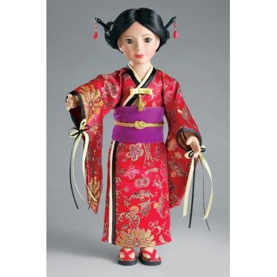 Kimono japonais Akai Hime