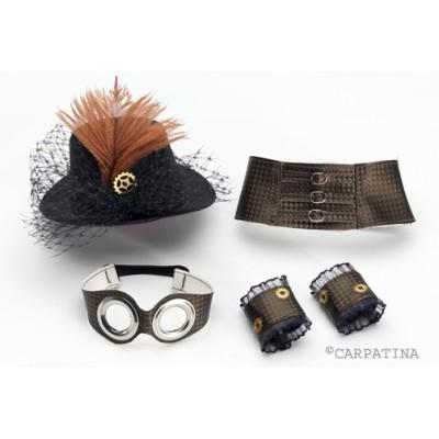 Set Accessoires Steampunk