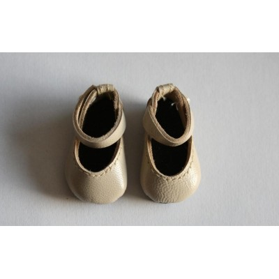 Chaussures Beige Mary Jane pour Boneka