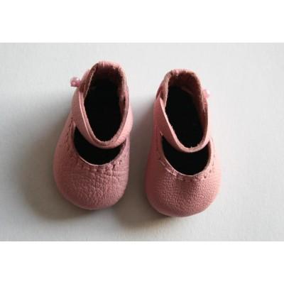 Chaussures roses foncées Mary Jane pour Boneka