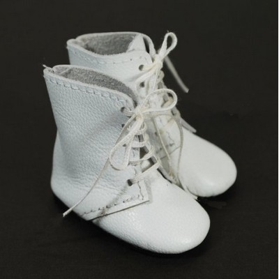 Bottines blanches pour Little Darling