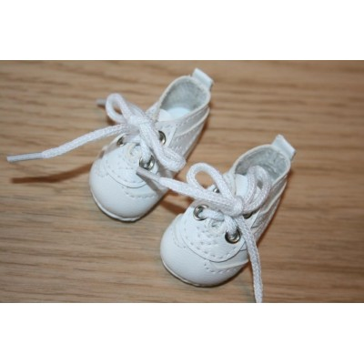 Chaussures baskets blanches pour Little Darling