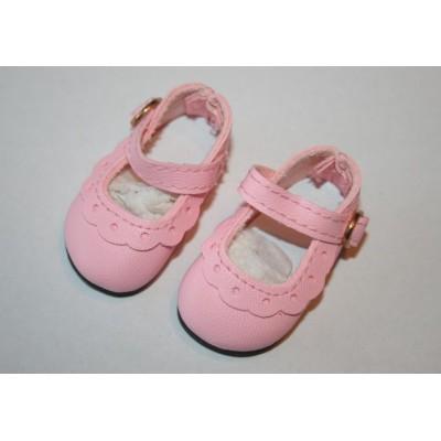 Chaussures classiques Rose Vif pour Little Darling
