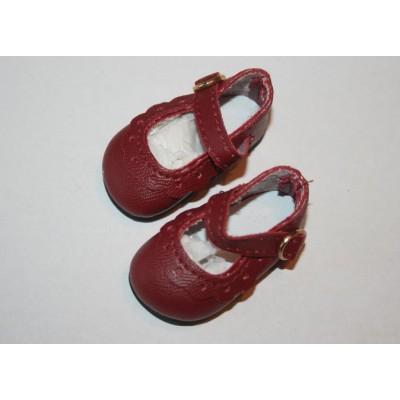 Chaussures classiques Bordeaux pour Little Darling