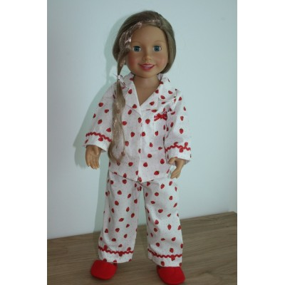 Vêtement Pyjama Fraises