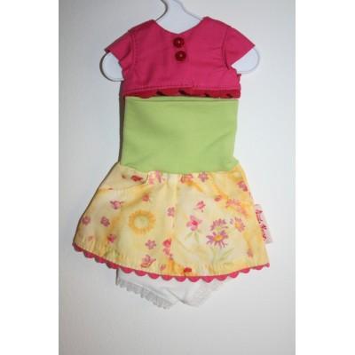 Vêtement Cilly pour poupée Minouche