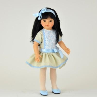 Poupée Kaori Robe Ciel et beige